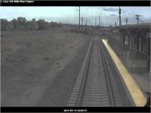 Video: Fatal Rail Runner collision