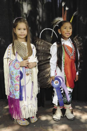 Honoring traditional and contemporary regalia at the Native American Clothing Contest