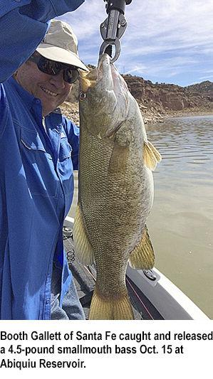 New mexico fishing report the santa fe new mexican outdoors for New mexico game and fish login