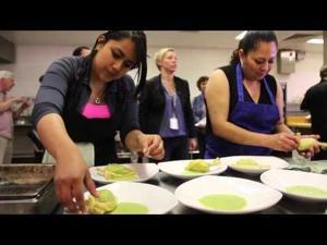 Capital High School cook-off
