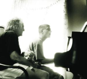 Evelyn Salce Curtis Losack giving a piano lesson