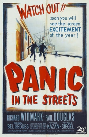 28 Screen Gems Panic in the Streets poster