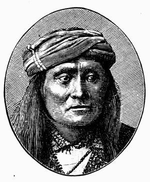 Mangas Coloradas was a powerful Apache