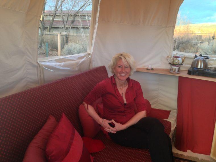 Woman seeking home closer to nature develops 'PleniSphere'