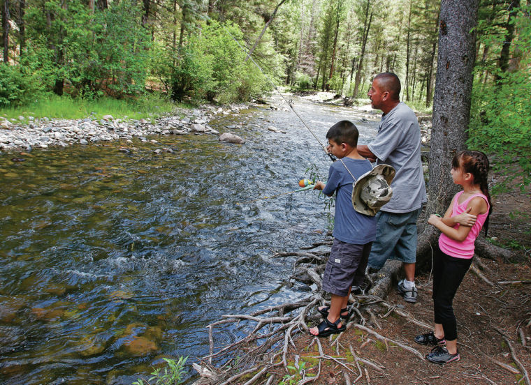 Pecos canyon business owners visitors look to state park for Pecos river fishing