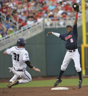 Allen leads Ole Miss in 6-4 CWS win over TCU