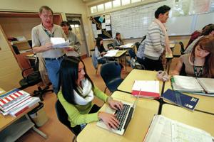 Local schools put teacher evaluation system to the test
