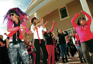 One Billion Rising educates public on violence against women