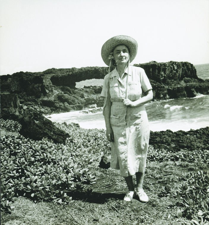 Georgia O'Keeffe in Hawaii