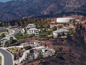 Report says mitigation measures lessen the impact of wildfires