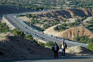 Religious pilgrims of diverse backgrounds trek to Chimayó