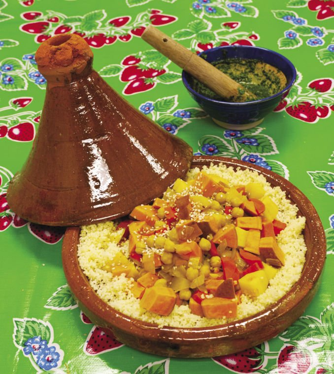 Couscous with Chermoula