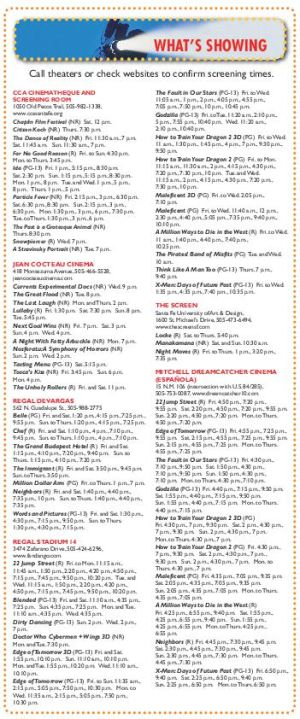 June 13-19 movie times