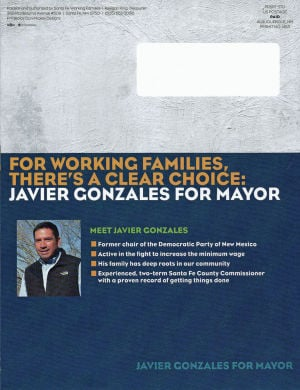 Reports: Outside groups spend $48K supporting Gonzales for mayor
