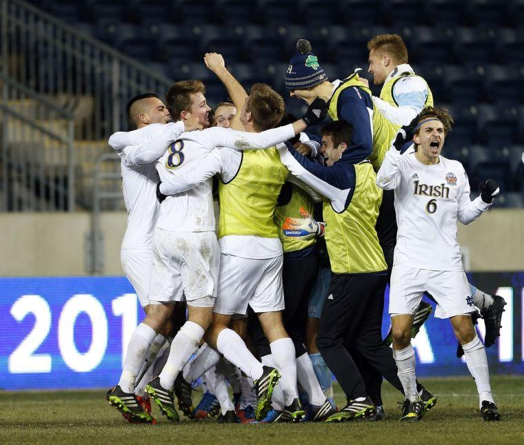 Norte Dame wins NCAA men's soccer title