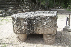 Altar Q at Copán