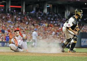 Trout homers leading off, and AL All-Stars top NL 6-3