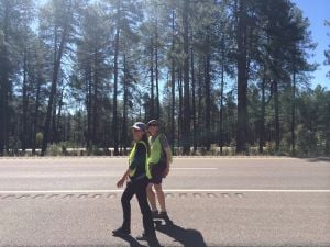 Cross-country trek for climate awareness to reach Santa Fe on Friday