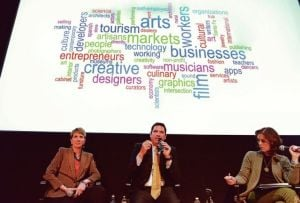 Bushee, Gonzales vow to be strong advocates for art community