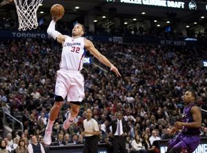 Clippers star Griffin out indefinitely with staph infection