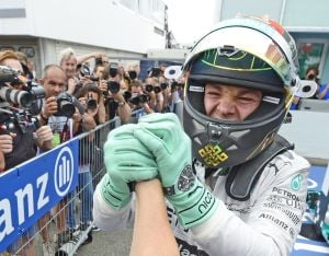 F1 championship leader Rosberg wins German GP