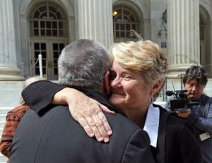 Judge in gay marriage case asks pointed questions