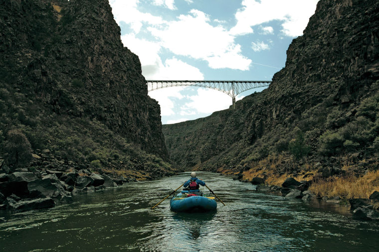 A trip down Rio Grande Gorge's world-renowned whitewater