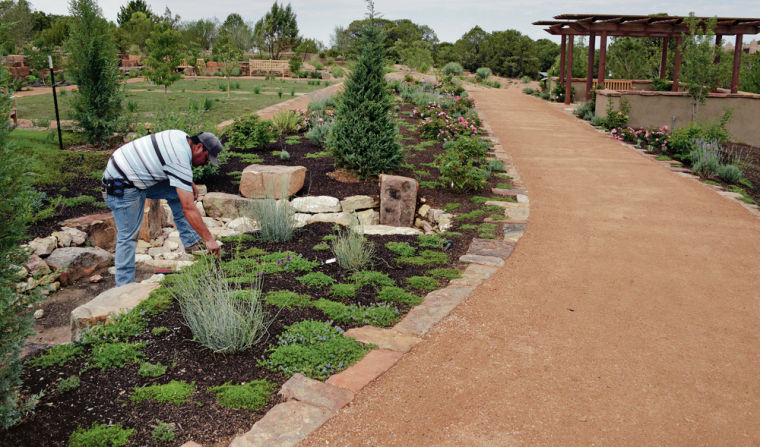 Organization Puts Final Touches On Botanical Garden Before