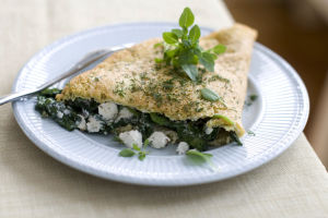 Egg whites work magic to make filling omelet for 2