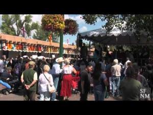 Fiesta de Santa Fe 2015  — La Entrada Protest