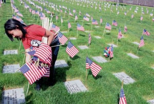 National cemetery volunteer: 'To me, they're all family'