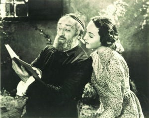Maurice Schwartz and Miriam Riselle in 'Tevye'