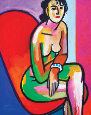 Nieto Nude After Matisse