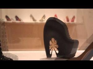 Watch video: Killer Heels, art exhibit opening tomorrow