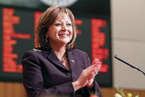 Gov. Susana Martinez in Washington, D.C., for trade summit