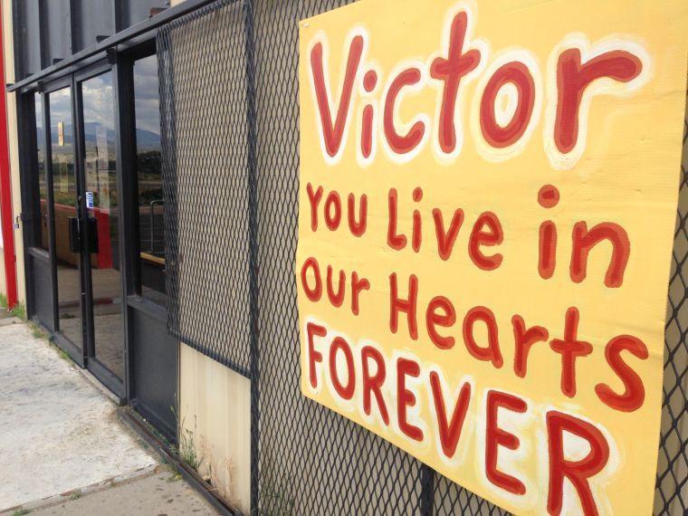 Victor Villalpando memorial service photo