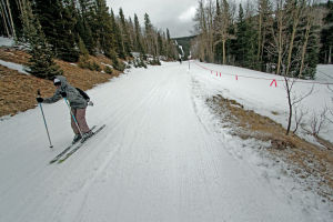 Drought drives down ski business, discourages snow lovers