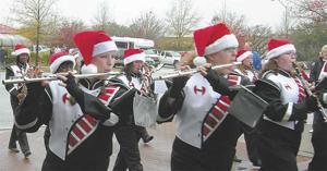 Christmas parade in Hartsville
