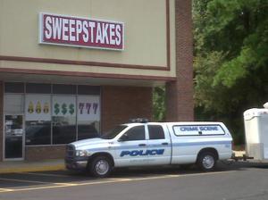 Florence Police raid sweepstakes parlor