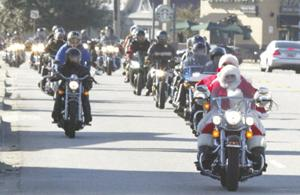 Locals rev up for Toys for Tots toy run, motorcycle parade