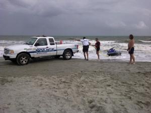 Myrtle Beach missing swimmer