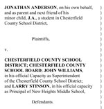 Download a copy of the Anderson's complaint