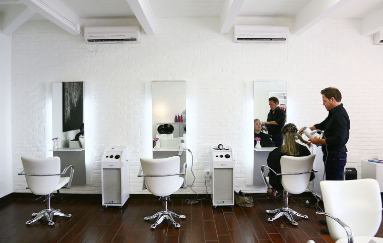 A new style for downtown florence business for A step ahead salon