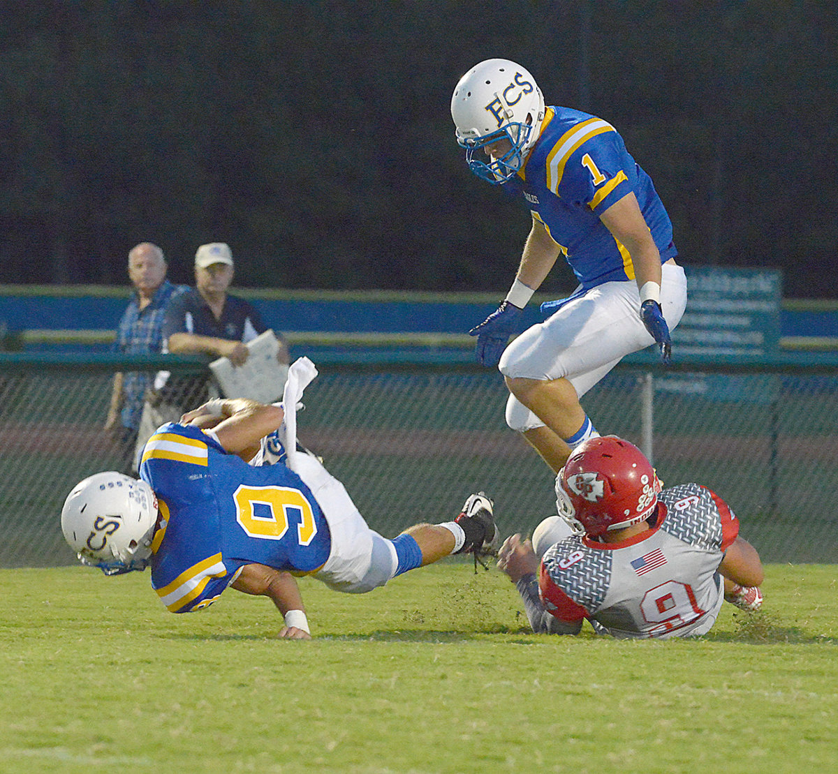 Florence Christian finds way to win despite injuries ...