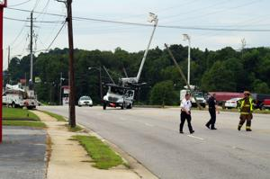 Bucket Truck Crash
