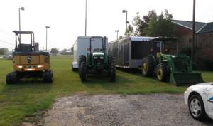 Stolen farm equipment found in Marion County
