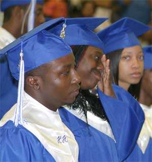 Tears shed and tributes given by Hemingway graduates