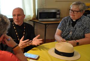 Bishop Peter Easton and Pastor Dori Zubizarreta