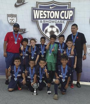 PSG of Homestead U10 Boys Soccer team and coaches