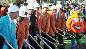 Ground Breaking for Orange Bowl Field at Harris Field Park